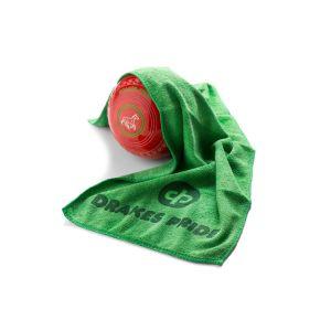 Drakes Pride Microfibre Bowls Towel: Green