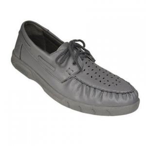 Greenz Camille II Lace-up Ladies Bowls Shoes: Grey