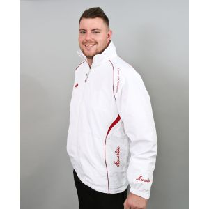 Henselite Choice of Champions Waterproof Bowls Jacket: Red Trim