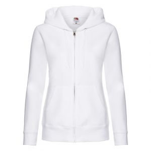 Fruit of the Loom Ladies Premium Hooded Sweat Bowls Jacket