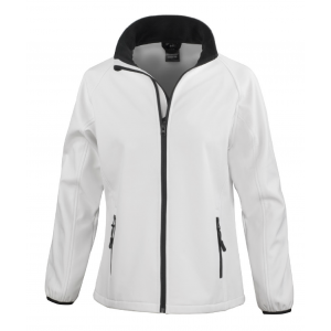 One-up Printable Ladies Softshell Bowls Jacket
