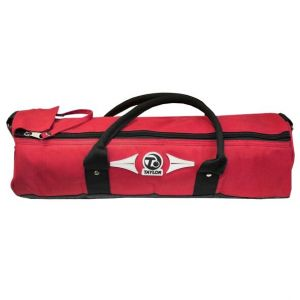 Taylor Four Bowls Cylinder Bags: Red