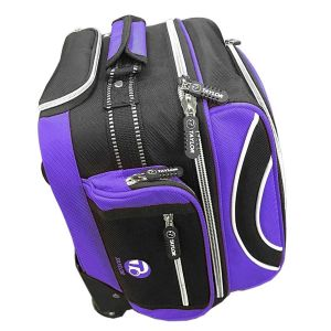 Taylor Compact Bowls Trolley Bags: Purple